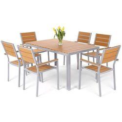 Meble ogrodowe HOME&GARDEN 537457 Salvador aluminiowe Srebrny