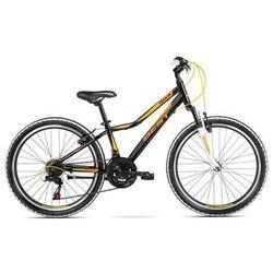 """Rower BEST Rock JR M14"""" Czarno-Pomarańczowy"""