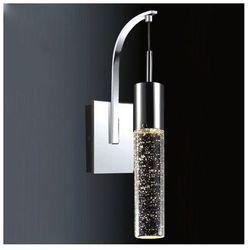 Kinkiet LAMPA ścienna XYLO 9740-1W Italux halogenowa OPRAWA glamour bąbelki chrom przezroczysty