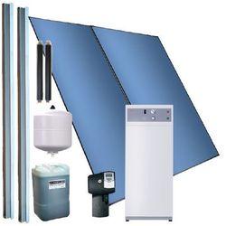 System grzewczy z kompaktową pompą ciepła do c.w.u. wspomagana kolektorem słonecznym PS/PC BASIC 5,0 m2, 2/WWK 300 SOL - 4-6 osób
