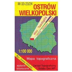 Ostrów Wielkopolski Rezerwat Stawy Milickie mapa 1:100 000 WZKart (opr. miękka)