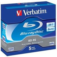 Verbatim BD-RE 2x 25GB 5P JC