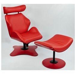 Fotel Viterno z podnóżkiem