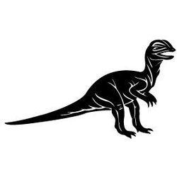 Szablon malarski z tworzywa, wielorazowy, wzór dla dzieci 27 - dinozaur