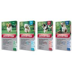 BAYER Advantix dla psów do 4kg pipeta 0,4ml
