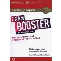 Cambridge English Exam Booster for Preliminary and Preliminary for Schools with Answer Key with Audio (opr. miękka)