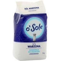 CENOS 1kg Sól Warzona Jodowana