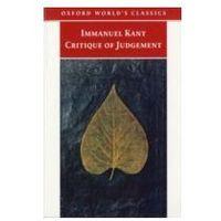 EBOOK Critique of Judgement