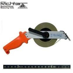 Taśma ruletka Richter stalowa nierdzewna z podziałem trawionym 464 SR/30m
