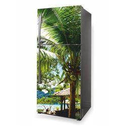 fototapeta na lodówkę palma kokosowa P476
