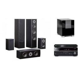 YAMAHA HTR-4068 + BD-S477 + QUADRAL QUINTAS 6500 + QUBE 8 - Kino domowe - Autoryzowany sprzedawca