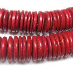 Palma kokosowa czerwona dyski 20mm