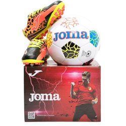 Joma CHAMPION AG SET Korki Lanki black/orange
