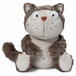 Nici, maskotka, kot, szary, 25 cm Darmowa dostawa do sklepów SMYK