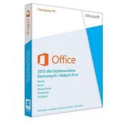 Microsoft Office 2013 dla Użytkowników Domowych i Małych Firm (MLK) PL