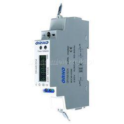 ORNO 1-FAZOWY WSKAŹNIK ZUŻYCIA ENERGII ELEKTRYCZNEJ 80A, PORT RS-485