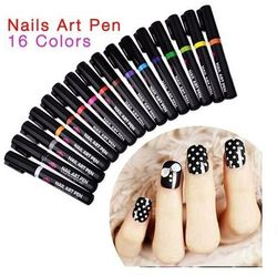 Nail Art Pen Mazak do zdobienia paznokci Nr 11 Niebieski 7ml - Nr 11 Niebieski