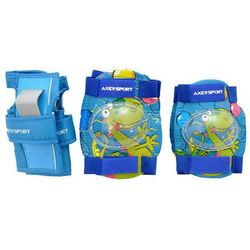 Ochraniacze na rolki dla dzieci Blue - Niebieski