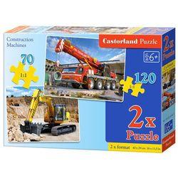Puzzle Maszyny budowlane 70 i 120 2w1