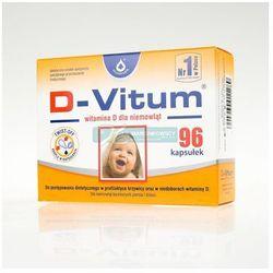 D-Vitum - witamina D dla niemowląt 96 kasułek twist-off