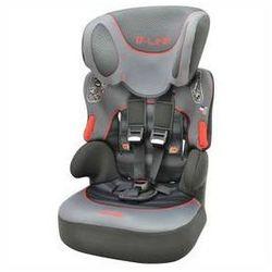 Fotel samochodowy Nania Beline SP 2014 Graphic Red 9-36 kg Szara/Czerwona