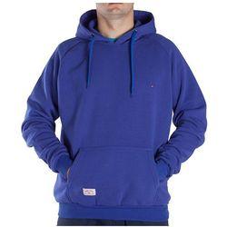 Bluza z kapturem Smiths - męska niebieska