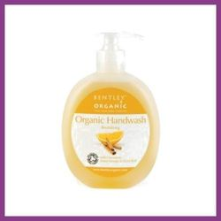 BENTLEY ORGANIC Odżywiający żel do mycia rąk z cynamonem, słodką pomarańczą i goździkami