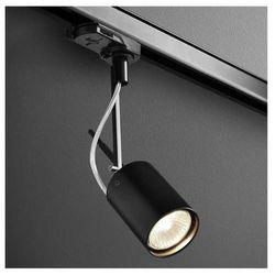 Reflektorowa LAMPA sufitowa PETPOT FINE 13511-02 Aquaform metalowa OPRAWA do systemu szynowego 3-fazowego czarny