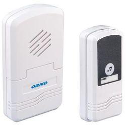 Dzwonek bezprzewodowy BLUES DC, bateryjny bez systemu kodowego ORNO