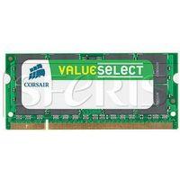 Pamięć RAM Corsair 2GB 667MHz DDR2 non-ECC CL5 SODIMM 1.8V - VS2GSDS667D2