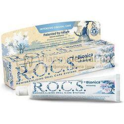 R.O.C.S. BIONICA WHITENING 60ml - naturalna pasta wybielająca do zębów bez fluoru