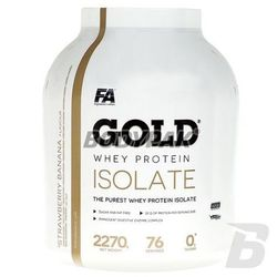 FA Nutrition Gold Whey Protein Isolate - 2270g