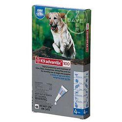 Bayer Advantix Spot-On 4,0ml - kompleksowa ochrona przeciw insektom dla psów 25-40kg