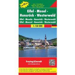 Niemcy Eifel-Moselle-Hunsruck mapa T10T 1:150 000 Freytag & Berndt