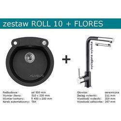 Zestaw AVLEUS ROLL 10 + FLORES (kolor CZARNY)
