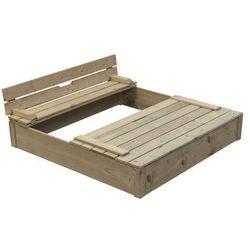 Swing King drewniana piaskownica Robert Darmowa wysy?ka i zwroty