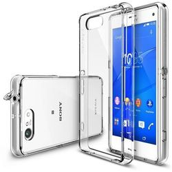 Obudowa Rearth   Etui Ringke Fusion Case + Folia ochronna   Sony Xperia Z3 Compact   kolor Crystal View - Crystal View