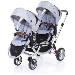 ABC DESIGN Wózek podwójny Zoom Style graphite grey oraz grass