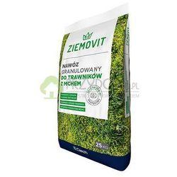 Nawóz granulowany do trawników z mchem 25 kg ZIEMOVIT