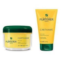 RENE FURTERER SET Carthame szampon nawilzajacy do wlosow suchych 150ml + maska do wlosow odzywczo - nawilzajaca 200ml