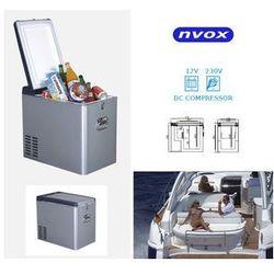 NVOX Lodówka samochodowa sprężarkowa 35l, Kompresor, 12V 230V