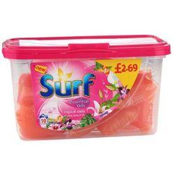 SURF 10szt. Tropical Angielskie Kapsułki do prania (10 prań)