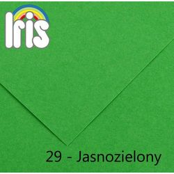 Brystol Canson Iris B1/240g jasny zielony 25ark.