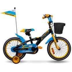 Rower dziecięcy Monteria BMX 16 Boy Alu 2016