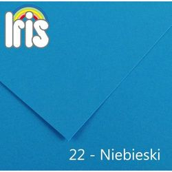 Brystol Canson Iris B1/240g niebieski 25ark.