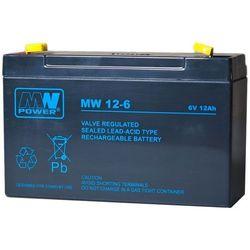 Akumulator żelowy 6,0V/12Ah MW Pb 151x50x100mm