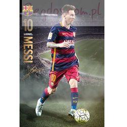 Fc Barcelona Messi Akcja - plakat