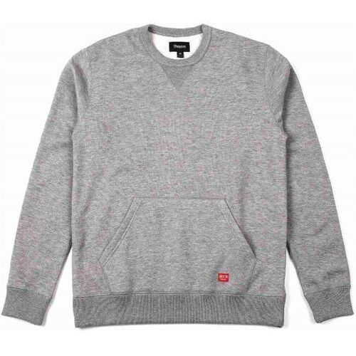 bluza BRIXTON - Hoover Crew Heather Grey 0304 (0304) rozmiar: M