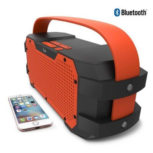 iLuv Impact Level 3 Orange | BOOMBOX WATER-RESISTANT IPX5 | GŁOŚNIK BLUETOOTH