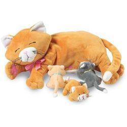 Manhattan Toy, karmiąca mama kotka, maskotka Darmowa dostawa do sklepów SMYK